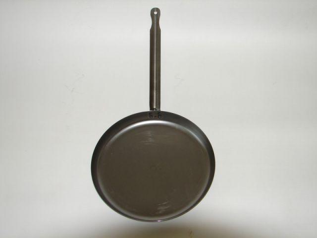 Ø26 cm. Natúr/Vas palacsintasütő
